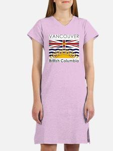 Vancouver British Columbia Women's Nightshirt