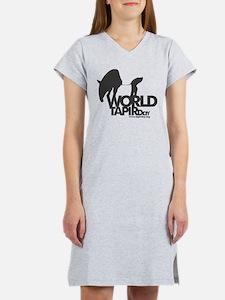 Women's Nightshirt: 'World Tapir Day'