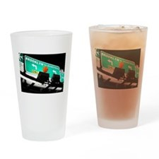 BROOKLYN BASKETBALL Drinking Glass