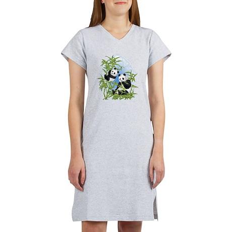 Panda Bears Women's Nightshirt