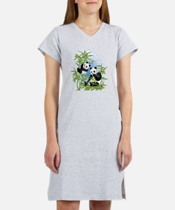 Panda Bears Women's Nightshirt