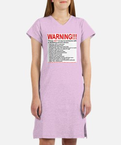 Disabling Chronic Illness Women's Nightshirt
