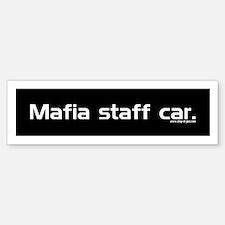 Mafia Bumper Bumper Bumper Sticker