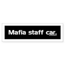 Mafia Bumper Bumper Sticker
