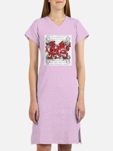 Welsh Dragon Women's Nightshirt
