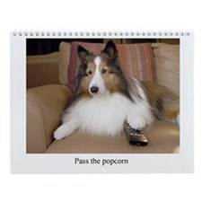 Pass the Popcorn Wall Calendar