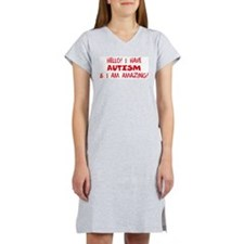 Just Text! Women's Pink Nightshirt