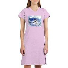 BOSTON in bathtub Design Women's Nightshirt