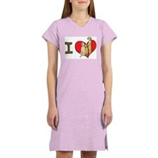 I heart meerkats Women's Nightshirt