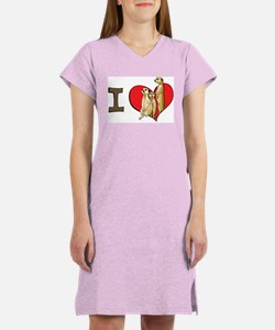 I heart meerkats Women's Nightshirt