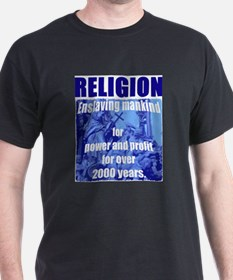 Religion for power and profit T-Shirt