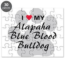 Alapaha Blue Blood Bulldog Puzzle