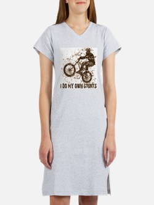 Mountain Bike, BMX - Stunts Women's Pink Nightshir