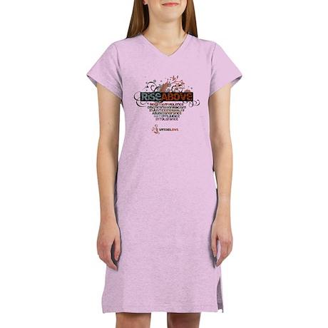 Rise Above Women's Nightshirt