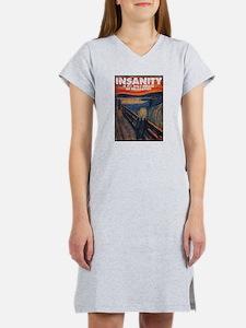 Insanity/Relaxation Women's Pink Nightshirt