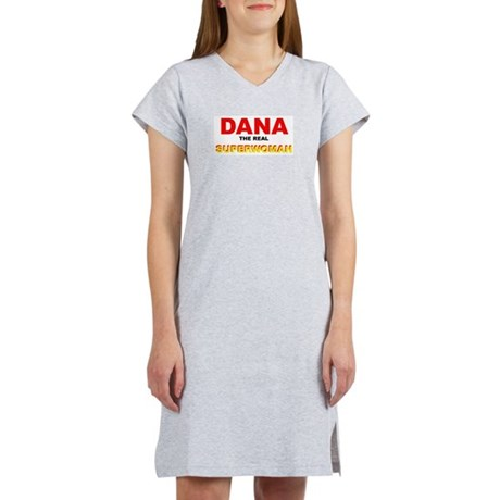 Dana Super Woman Women's Pink Nightshirt