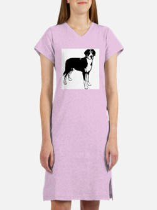Greater Swiss Mountain Dog Women's Nightshirt