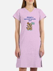 Special-Needs Pet (Dog) Women's Nightshirt