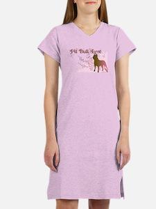 Pit Bull Love Women's Nightshirt