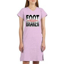 Footbraker: Thinkin' Outside Women's Nightshirt