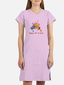 Firecracker 4th Women's Nightshirt