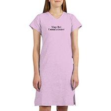 Slap Bet Commissioner Women's Nightshirt