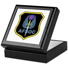 Air Force Special Operations Command Keepsake Box