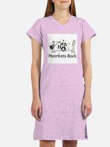Meerkats Rock Women's Nightshirt