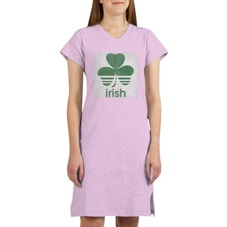 Vintage Irish Logo Women's Nightshirt