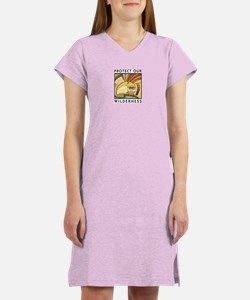 Protect Our Wilderness Women's Nightshirt