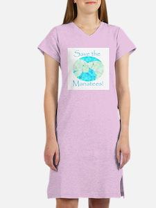 Save the Manatees Women's Nightshirt