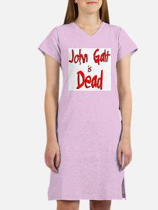 John Galt is Dead Women's Pink Nightshirt