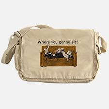 NMtl Where U Gonna Sit? Messenger Bag