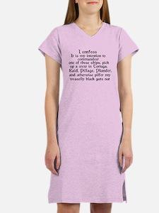 Cute Raid Women's Nightshirt