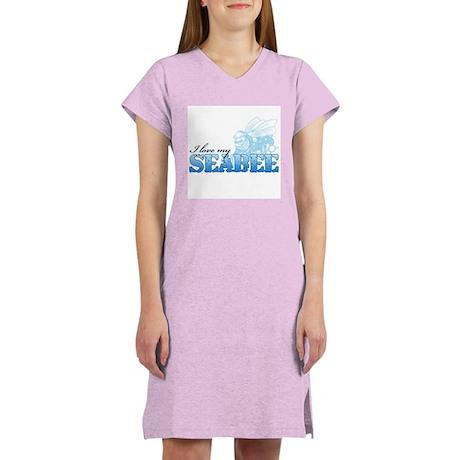I Love My Seabee Women's Nightshirt