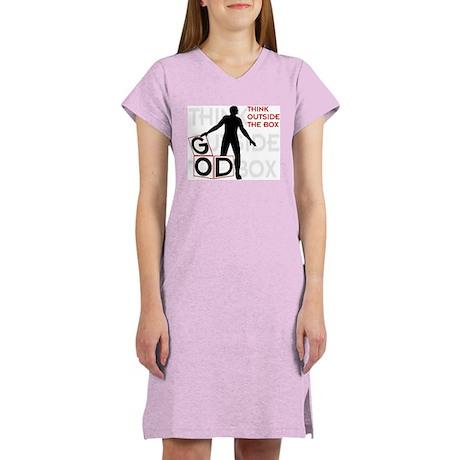 Think Outside Box Women's Nightshirt