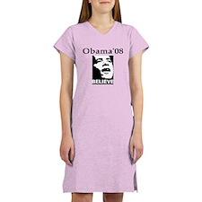 VOTE 08- Obama . Biden Women's Nightshirt