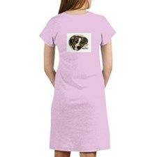 2 sided Stop BSL APBT Women's Nightshirt
