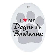 Dogue de Bordeaux Ornament (Oval)
