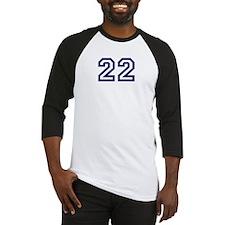 Number 22 Baseball Jersey