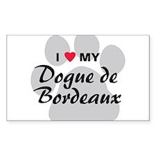 Dogue de Bordeaux Decal