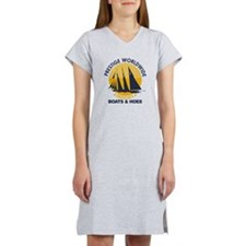 Step Brothers Boats Hoes Women's Nightshirt
