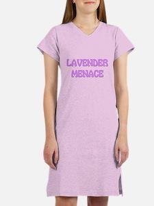 Lavender Menace Women's Nightshirt