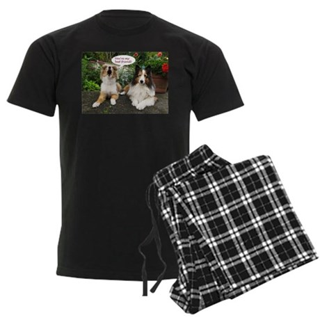 You're My Best Friend! Men's Dark Pajamas