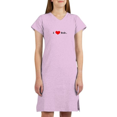 I heart Bob Women's Pink Nightshirt