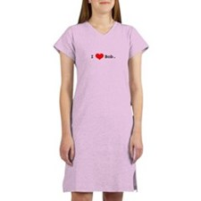 I heart Bob Women's Pink Nightshirt
