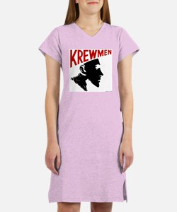 Krewhead 2 Women's Nightshirt with Backprint