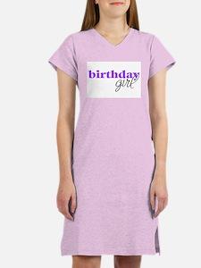 Birthday Girl - purple Women's Pink Nightshirt