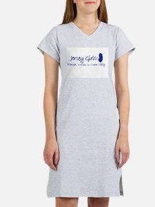 Jersey Girl, Rough, Tough & S Women's Nightshirt