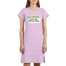 Geocache! Women's Pink Nightshirt